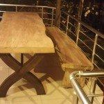 Kütük Masa Söğüt