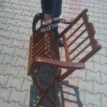 Sandalyenin katlanış şekli
