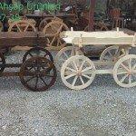Dekoratif Ahşap At Arabası